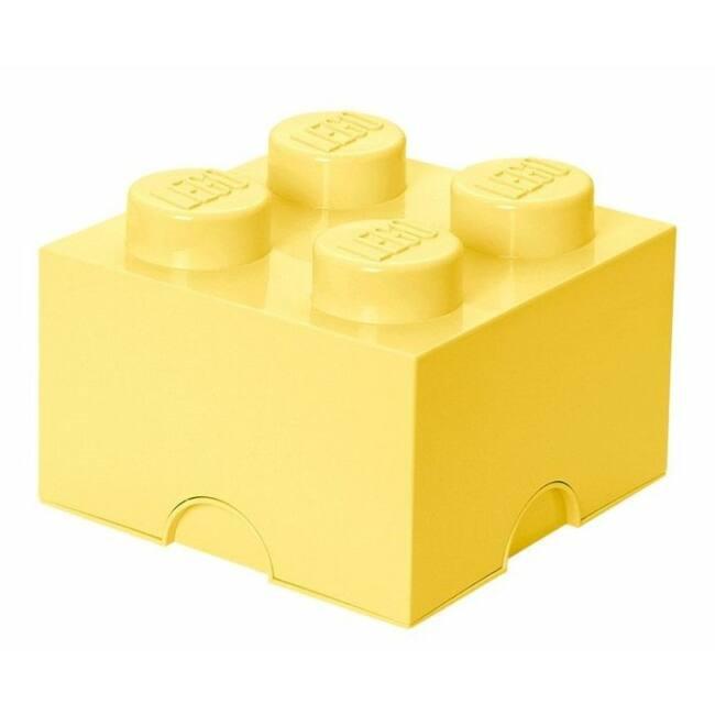 LEGO Storeage Brick 4 - Sárga (40031741) tároló blokk