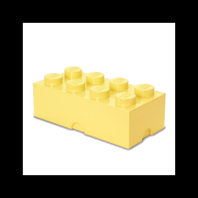 LEGO Storeage Brick 8 - Sárga (40041741) tároló blokk