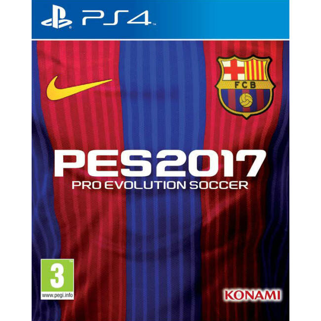Pro evolution soccer barcelona edition - PS4
