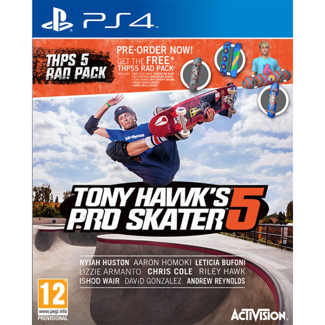 TONY HAWK: PRO SKATER 5 - PS4