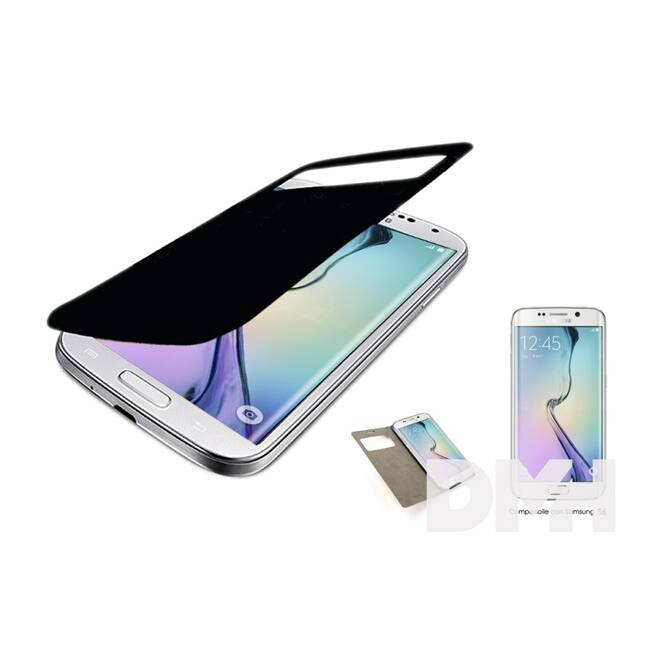 iTotal CM2770 Samsung Galaxy S6 fekete mappa tok