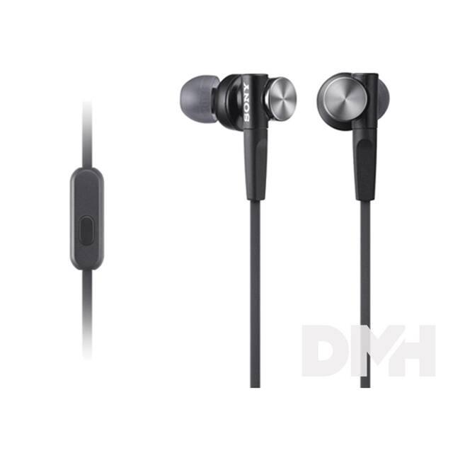 Sony MDRXB50APB.CE7 Extra Bass fekete mikrofonos fülhallgató
