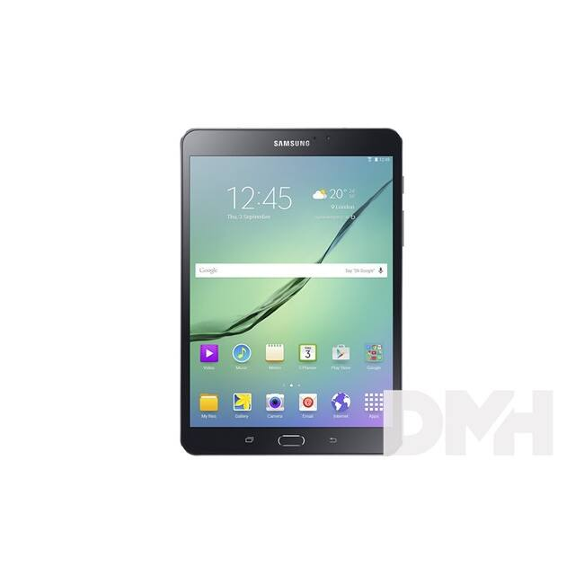 "Samsung Galaxy TabS 2 VE (SM-T719) 8"" 32GB fekete Wi-Fi + LTE tablet"