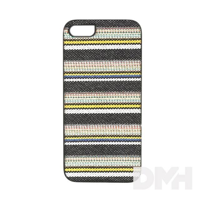 iKin K114J iPhone 5/SE Denim csíkos textil borítású tok