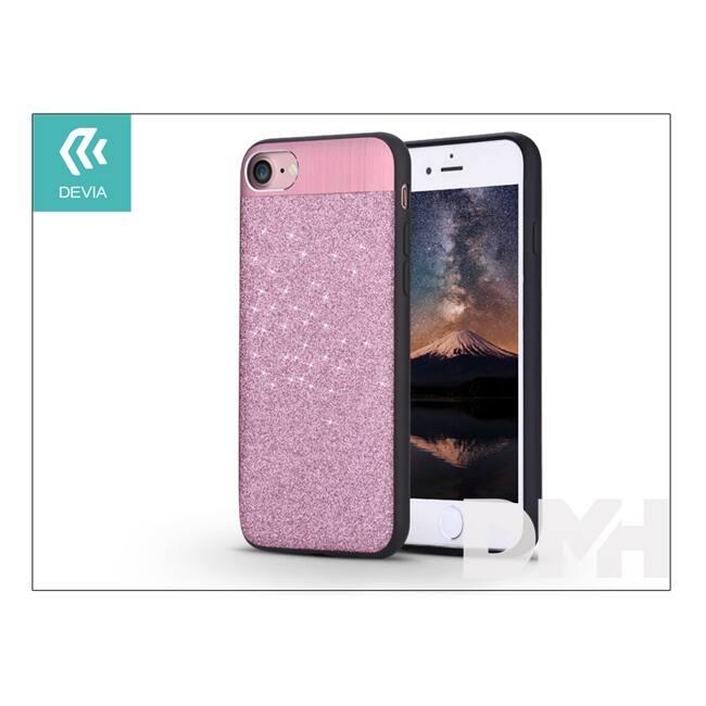 Devia ST000003 RACY iPhone 7 rózsaarany hátlap