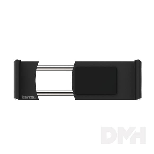 """Hama 178222 """"FLIPPER 2.0"""" univerzális szellőzőrácsba rögzíthető alu. fekete autós telefon tartó"""
