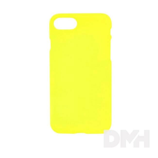 Cellect CEL-NEON-IPHSE-Y Neon Collection Prémium iPhone SE sárga szilikon hátlap