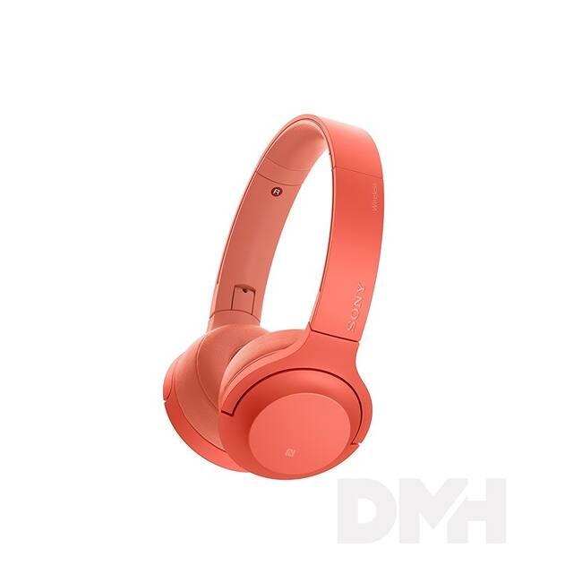 Sony WHH800 Hi-Res Bluetooth piros fejhallgató headset aptX