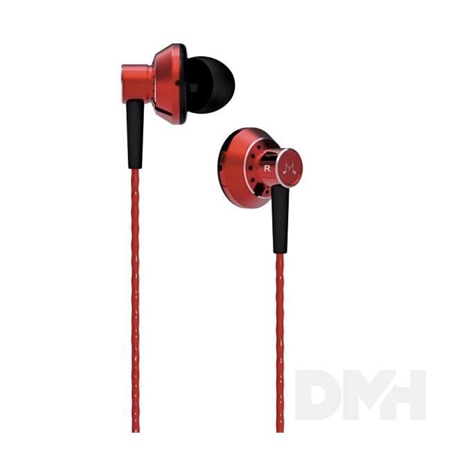 SoundMAGIC ES20BT In-Ear Bluetooth piros fülhallgató headset
