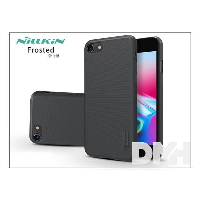 Nillkin NL148109 FR iPhone 7/8 fekete hátlap képernyővédő fóliával