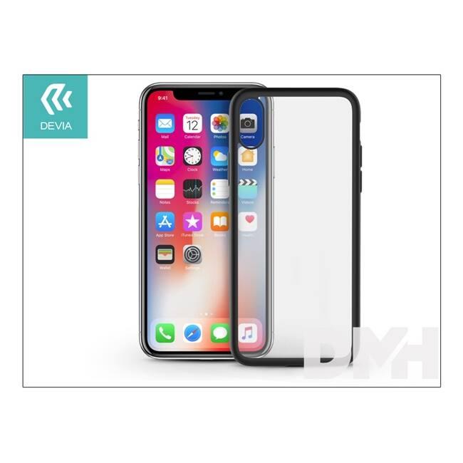 Devia ST300813 NOBILITY iPhone X fekete hátlap