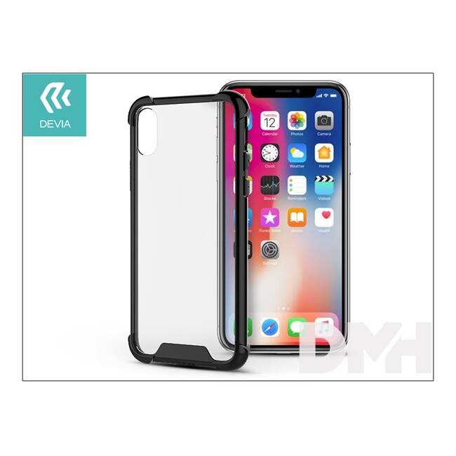 Devia ST305832 SHOCKPROOF iPhone X fekete hátlap