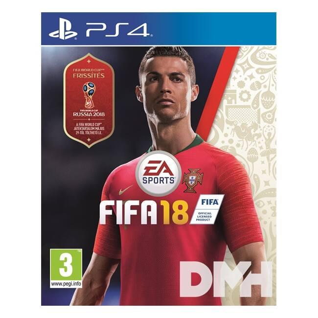 FIFA 18 PS4 játékszoftver