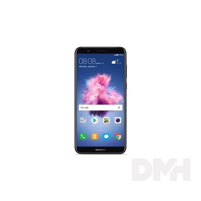 "Huawei P Smart 5,65"" LTE 32GB Dual SIM fekete okostelefon"