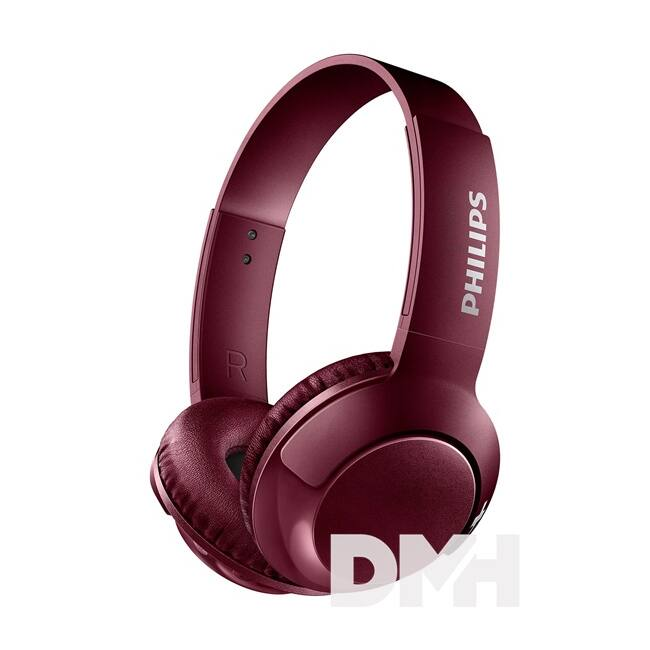 Philips SHB3075RD/00 Bluetooth piros fejhallgató