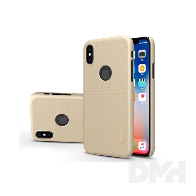 Nillkin NL147362 Frosted Logo iPhone X arany hátlap