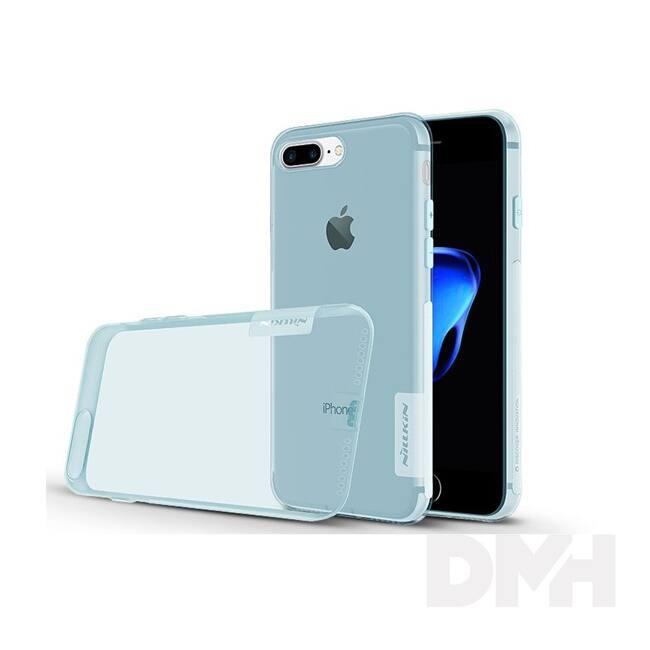 Nillkin NL127814 NATURE iPhone 7+/8+ kék szilikon hátlap