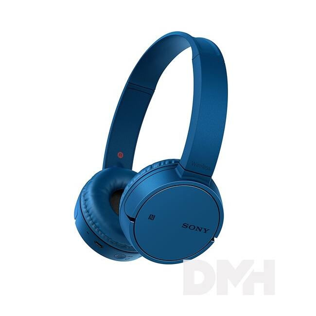 Sony WHCH500L Bluetooth kék fejhallgató headset