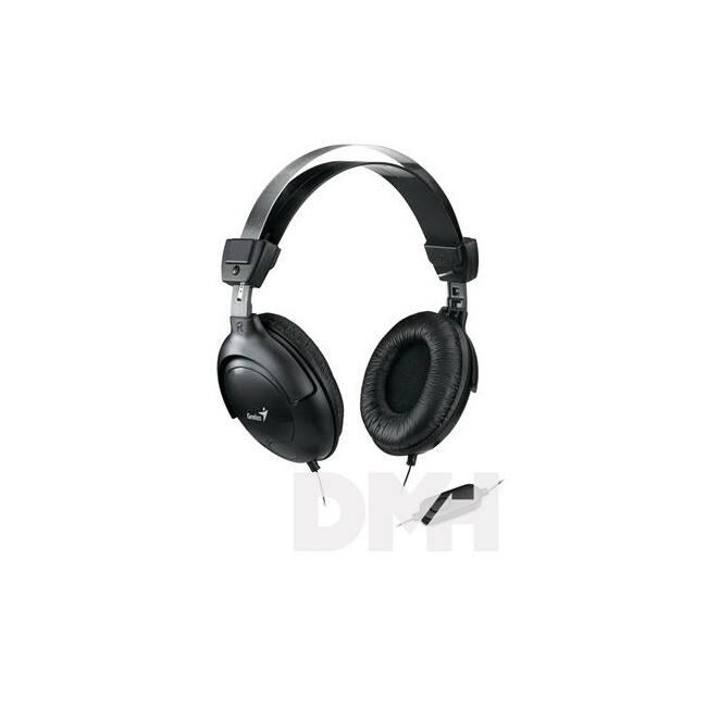 Genius HS-M505X single jack fekete headset