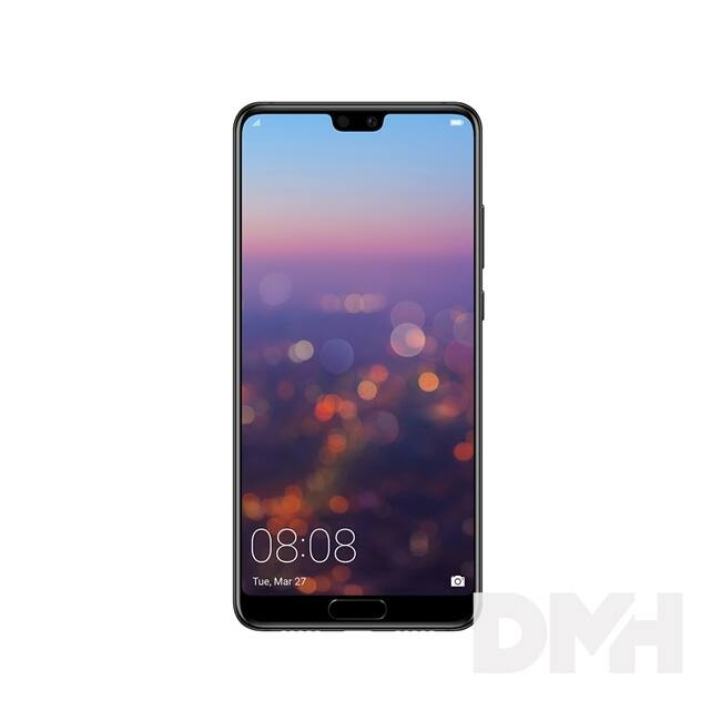 "Huawei P20 5,8"" LTE 128GB Dual SIM éjfekete okostelefon"
