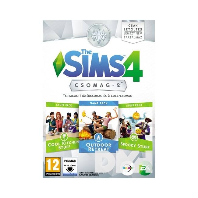 The SIMS 4 Bundle Pack 2 PC HU játékszoftver