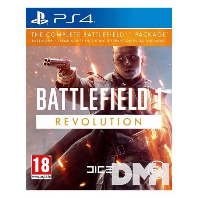 Battlefield 1 Revolution Edition PS4 CZ/SK/HU játékszoftver