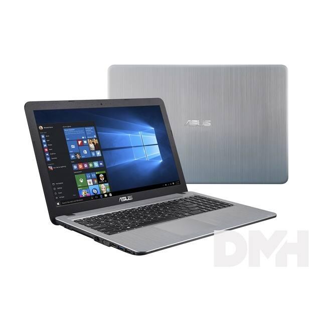 """ASUS X540MA-GQ156T 15,6""""/Intel Celeron N4000/4GB/500GB/Int. VGA/Win10/ezüst laptop"""