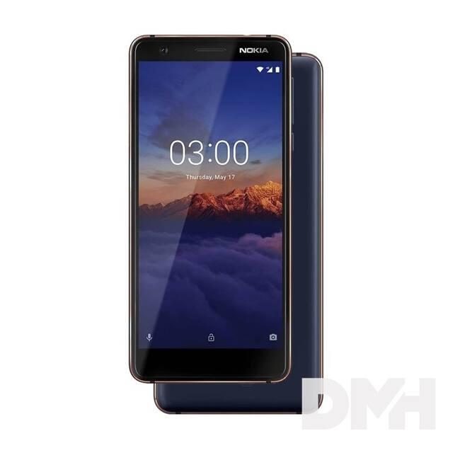 "Nokia 3.1 5,2"" LTE 16GB Dual SIM kék okostelefon"