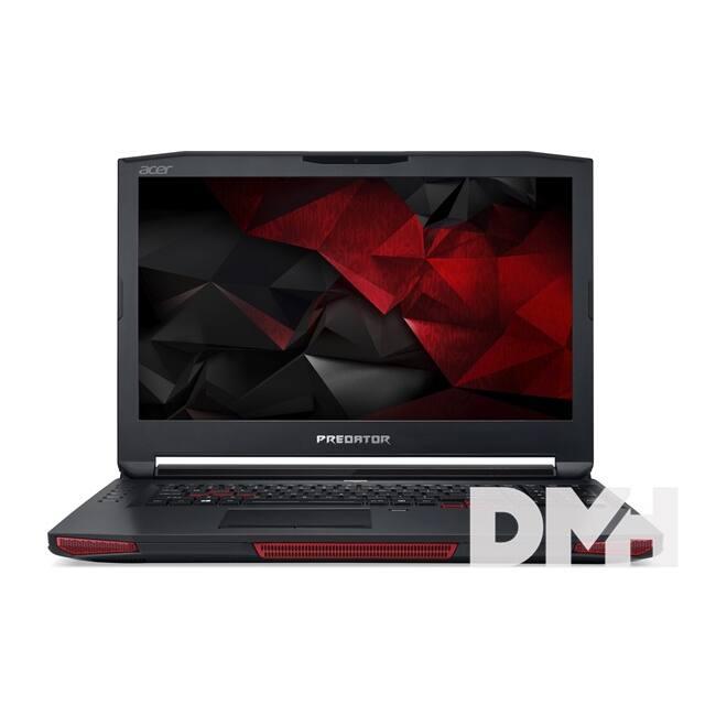 """Acer Predator GX-792-786N 17,3"""" FHD IPS/Intel Core i7-7820HK/16GB/256GB+1TB/GTX 1080 8GB/fekete laptop"""