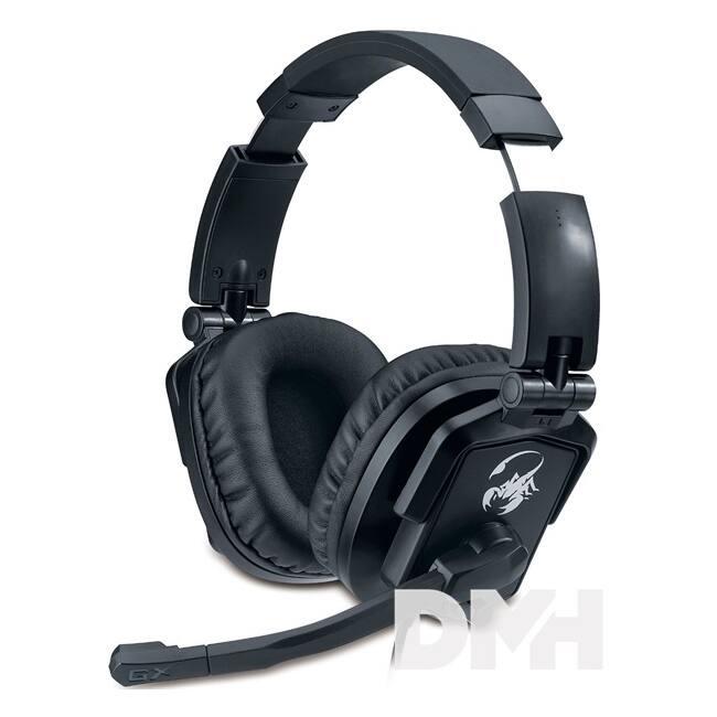 Genius HS-G550 jack fekete Gamer headset