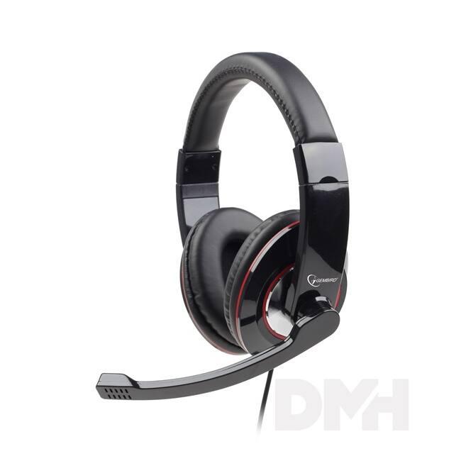 Gembird MHS-001 fekete headset