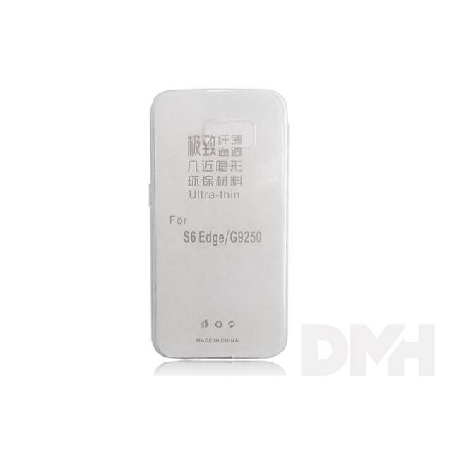 Haffner PT-2346 Samsung Galaxy G925 S6 Edge átlátszó ultra slim átlátszó hátlap