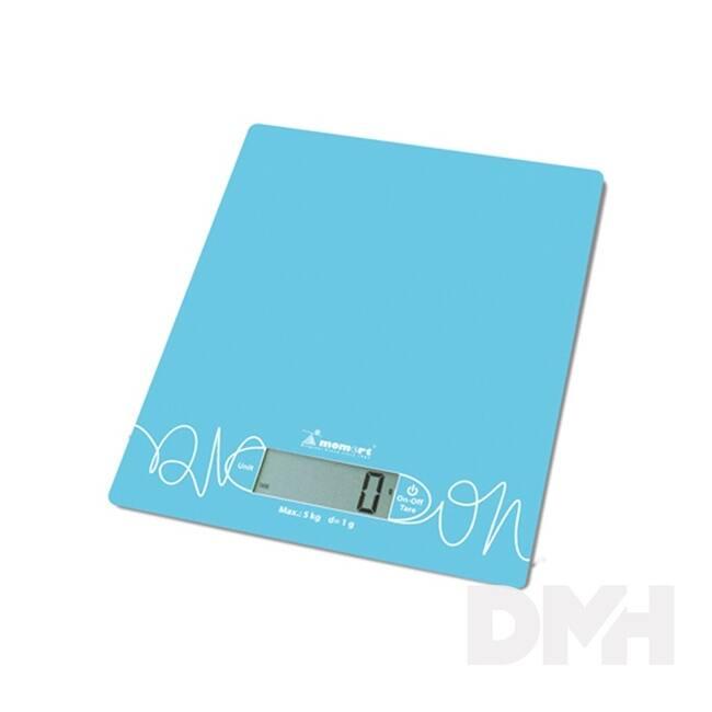 Momert 6854 kék üveglapos konyhamérleg