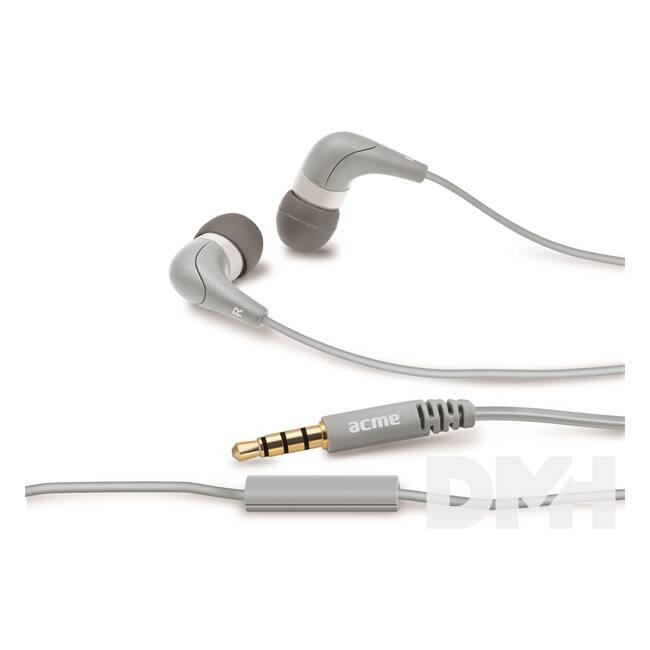 Acme HE15G Groovy szürke mikrofonos fülhallgató