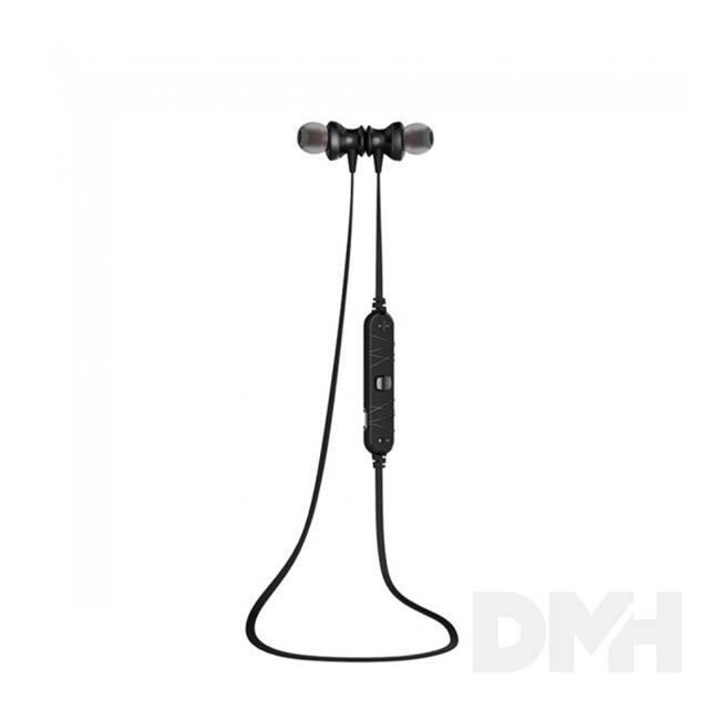 AWEI A980BL In-Ear Bluetooth fekete fülhallgató headset