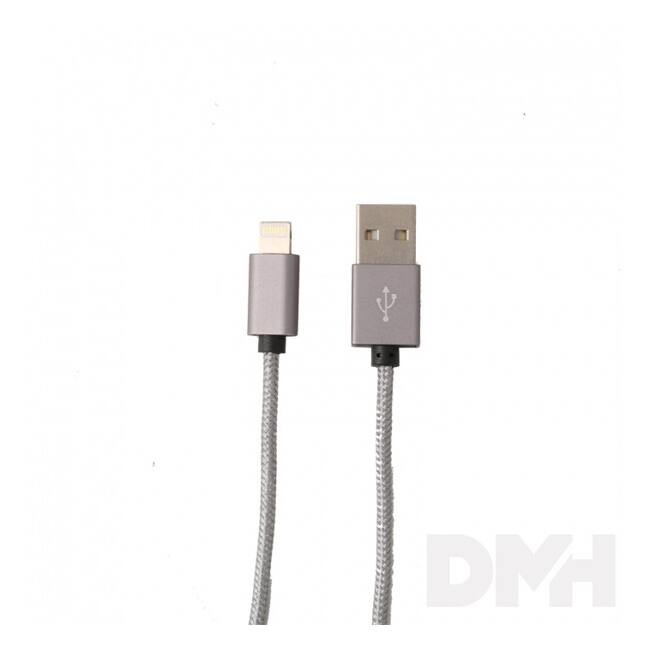 Itotal CM2943GRY Iphone 5/5S 6/6s fekete töltő kábel