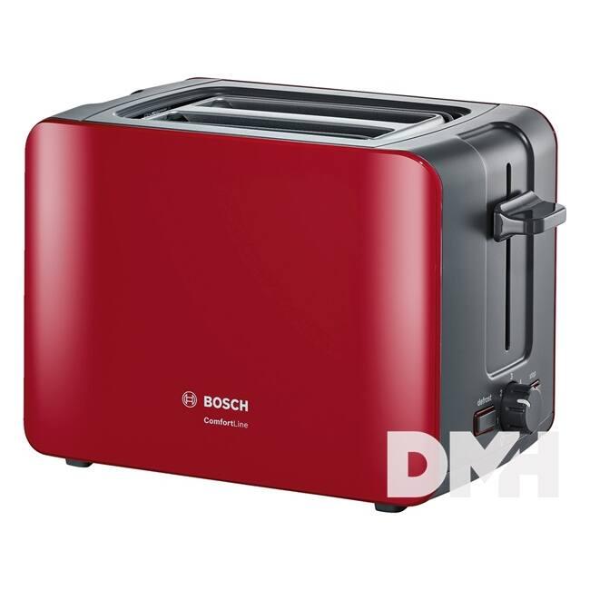 Bosch TAT6A114 piros kenyérpirító