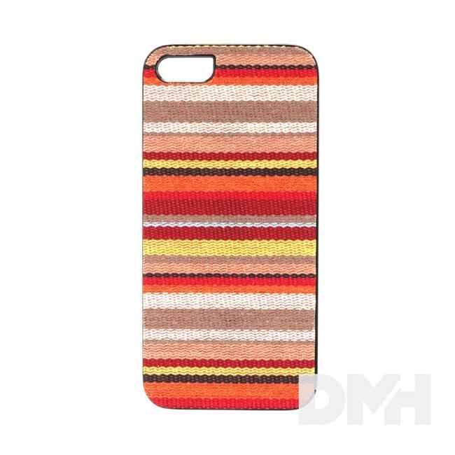 iKin K1142J iPhone 5/SE Hawai csíkos textil borítású tok