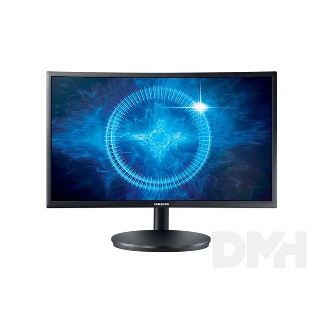 """Samsung 23,5"""" C24FG70FQU LED 2HDMI Display port 144Hz ívelt kijelzős monitor"""