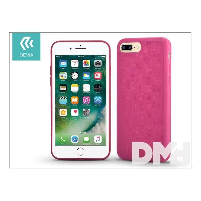 Devia ST993047 JELLY SLIM iPhone 7+ rózsaszín hátlap