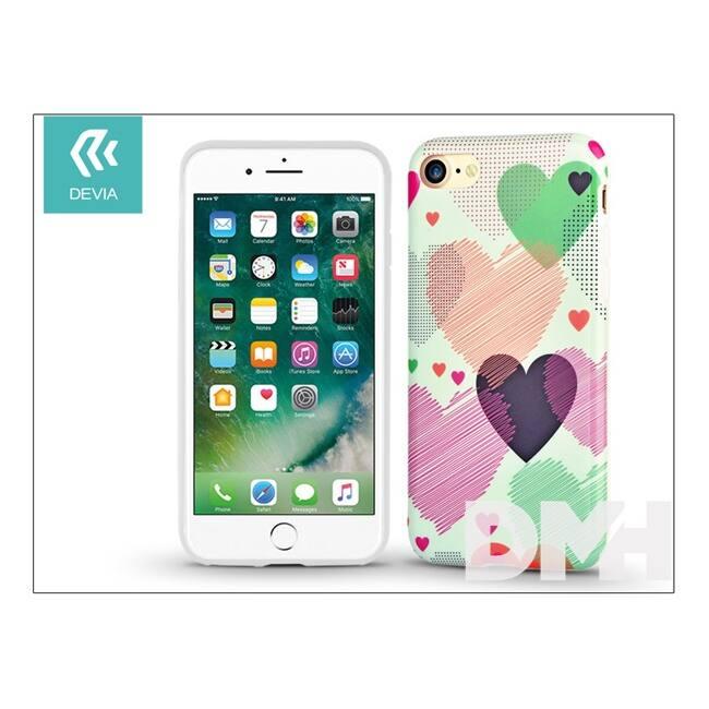 Devia ST994426 VIVID HEART iPhone 7 hátlap