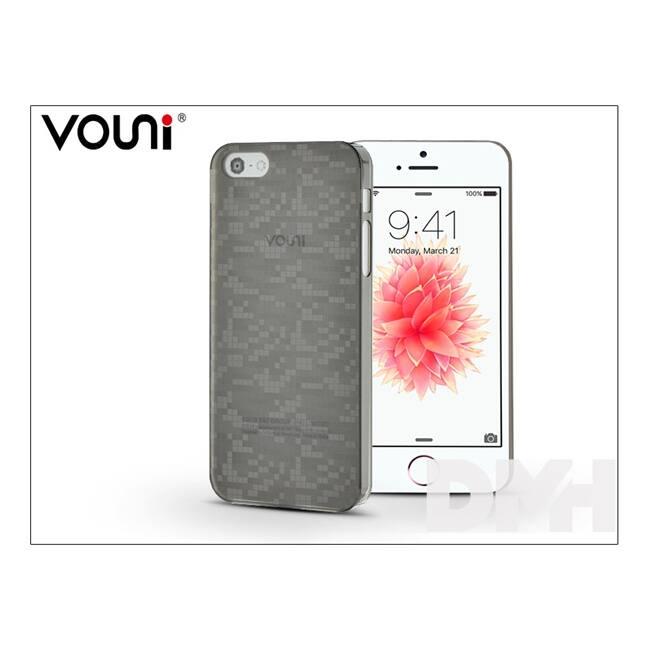 Vouni ST915896 iPhone 5S/5SE fekete ultravékony hátlap