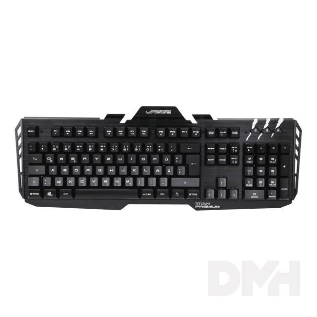 "Hama 113755 ""uRage CyberBoard Premium"" fekete HUN világító Gaming billentyűzet"