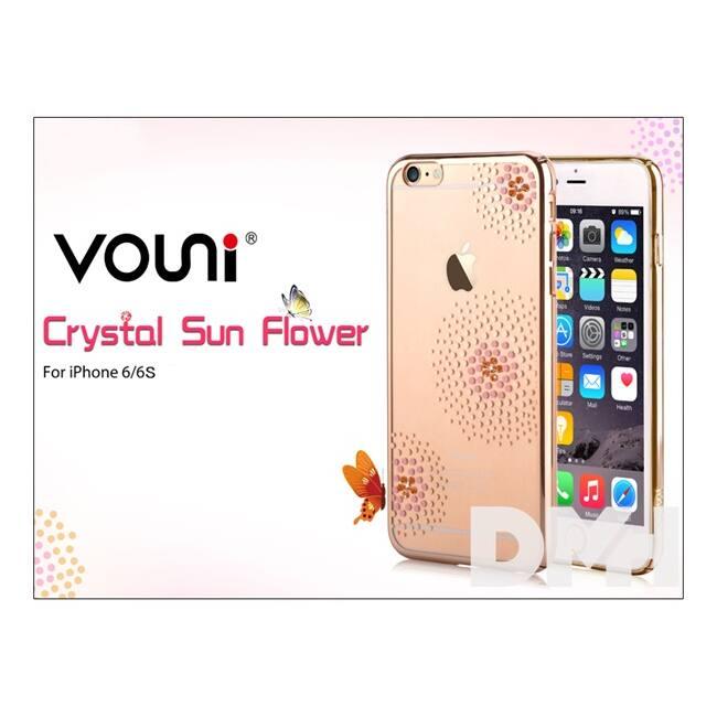 Vouni ST969318 Crystal SUN iPhone 6/6S pezsgőarany hátlap