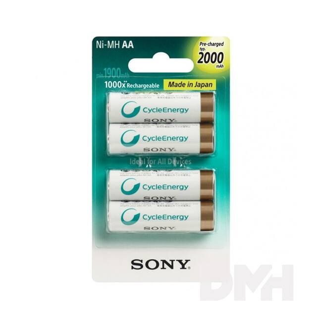 SONY AA 2000mAh ceruza akku 4db/bliszter