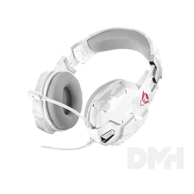 Trust GXT 322W Carus hó álcafestéses gamer headset