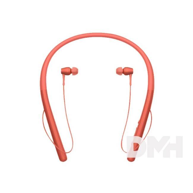 Sony WIH700 Hi-Res Bluetooth piros fülhallgató headset aptX
