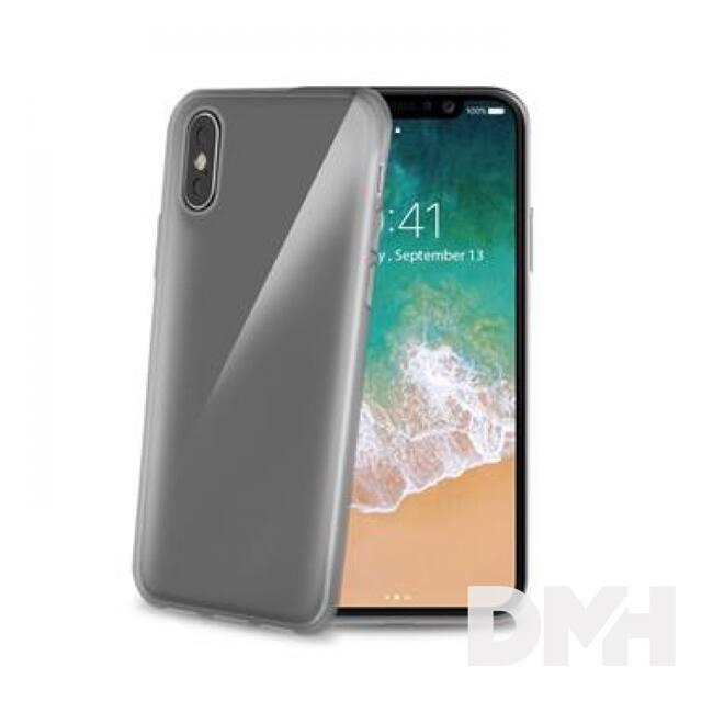 CELLY GELSKIN900BK Celly iPhone X fekete szilikon hátlap