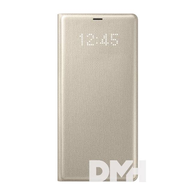Samsung EF-NN950PFEG Galaxy Note 8 arany LED cover tok
