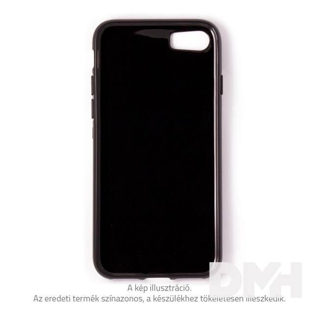 Cellect TPU-IPH8-BK iPhone 8 vékony átlátszó fekete szilikon hátlap